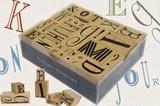 【BOX入り】ふぞろいなアルファベットスタンプセット