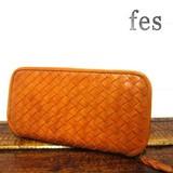 【2月中旬入荷】【fes/フェス】カウレザーメッシュ長財布