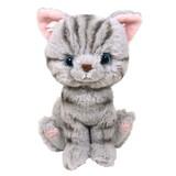 Kitten(キトン) ぬいぐるみ  アメリカンショートヘアーGY