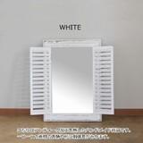 ■SPICE SALE■ ANCIENT WINDOW FRAME MIRROR WHITE