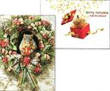AVANTI PRESS クリスマススタンドアウトカード<リス×どんぐり>