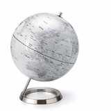 【【Interio Globe Collection】地球儀S 12インチ ホワイト