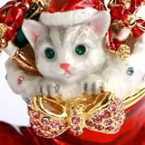 【戦プラSALE!11/28-12/3 】クリスマス 宝石箱 ジュエリーボックス 【モモのクリスマス】