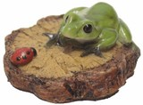 樹脂ミニ置物蛙シリーズ