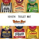 【アメリカン★☆トイレ用マット☆★カラフル&POPな全6柄♪お得なセットも!】TOILET MAT