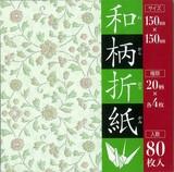 【たっぷり80枚和風おりがみ】和柄折紙 80枚入