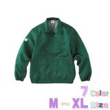 背裏メッシュ【M〜XL】エコツイルブルゾン/7色【オリジナル・ユニフォームにお勧め!】