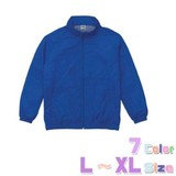 背裏メッシュ【L〜XL】エコジャケット/7色【オリジナル・ユニフォームにお勧め!】