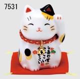 「置物とインテリア」 彩絵 福招き猫