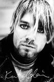 ■ポスター■610X915mm★ Kurt Cobain Signature