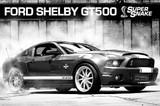 ■ポスター■610X915mm★ Ford Shelby GT500 Supersnake