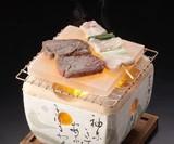 【キッチン】 岩塩プレート 【長角/正角】