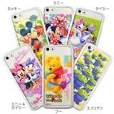 ◎レンチキュラーケース iPhone 5c ディズニー WHITE