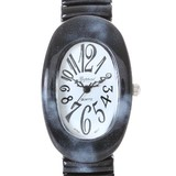 Oval Face Colorful Fashion Clock/Watch Clock/Watch