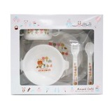 anano cafe Baby Plates & Utensil Set