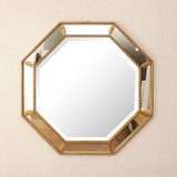Italy Furniture Wall Mirror Wall Hanging Product Mirror Square Shape