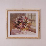 Italy Furniture Art Frame Rose Wall Hanging Product Possible