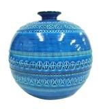 【イタリア製】ビトッシ・リミニブルー陶器花瓶(5サイズ)