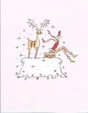 MADISON PARK GREETINGS クリスマスカード <レディ×トナカイ>