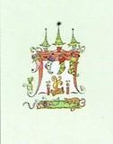 MADISON PARK GREETINGS クリスマスカード <ツリー×靴下>