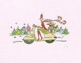 MADISON PARK GREETINGS クリスマスカード <レディ×バイク>