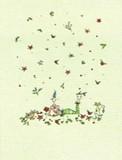 MADISON PARK GREETINGS クリスマスカード <レディ×フラワー>