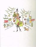 MADISON PARK GREETINGS クリスマスカード <レディ×ショッピング>