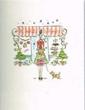 MADISON PARK GREETINGS クリスマスカード <レディ×ツリー>