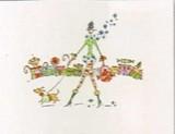 MADISON PARK GREETINGS クリスマスカード <レディ×犬>