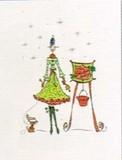 MADISON PARK GREETINGS クリスマスカード <レディ>