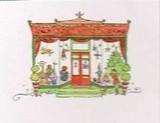 MADISON PARK GREETINGS クリスマスカード <おもちゃ屋さん>