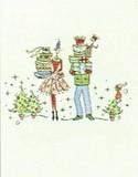 MADISON PARK GREETINGS クリスマスカード <レディ×プレゼント>