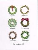 KOCO NEW YORK クリスマスカード <リース>