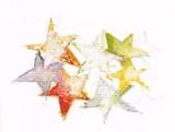 KOCO NEW YORK クリスマスカード <星>