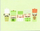 MADISON PARK GREETINGS クリスマスカード <人形×ひげ>