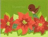 MADISON PARK GREETINGS クリスマスカード <小鳥×フラワー>