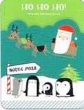 MADISON PARK GREETINGS クリスマスカード <サンタ×ペンギン>