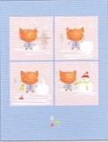 MADISON PARK GREETINGS クリスマスカード <猫×スノーマン>