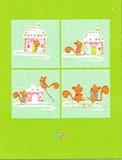 MADISON PARK GREETINGS クリスマスカード <リス×お菓子の家>