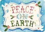 MADISON PARK GREETINGS クリスマスミニカード <ハート×鳩>
