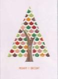 MADISON PARK GREETINGS クリスマスミニカード <ツリー>