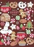 MADISON PARK GREETINGS クリスマスミニカード <クッキー>