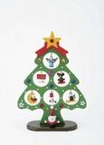 【8月21日から31日まで10%分引きセール!】【クリスマス】【木製オーナメントジュエルツリーM】
