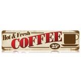 【スティールサイン】【フード&ドリンク】Coffee<看板> ★アメリカ製★