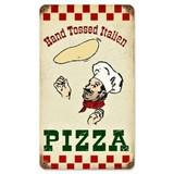 【スティールサイン】【フード&ドリンク】Hand Tossed Pizza<看板> ★アメリカ製★