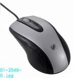 【信頼のOHMブランド】快適グリップ 光学式マウス Lサイズ