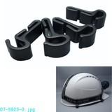 【信頼のOHMブランド】ヘルメット取付けパーツ 4個セット P−03