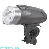 【信頼のOHMブランド】自転車用LEDライト (取り付けホルダー付) 3色