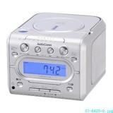 【信頼のOHMブランド】07−6420 液晶表示CDクロックラジオ RCD−C005H