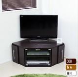 【DBR,NA:予約販売7月上旬入荷予定】テレビ台  コーナー ロータイプ 大型液晶テレビ対応 カラーは3色